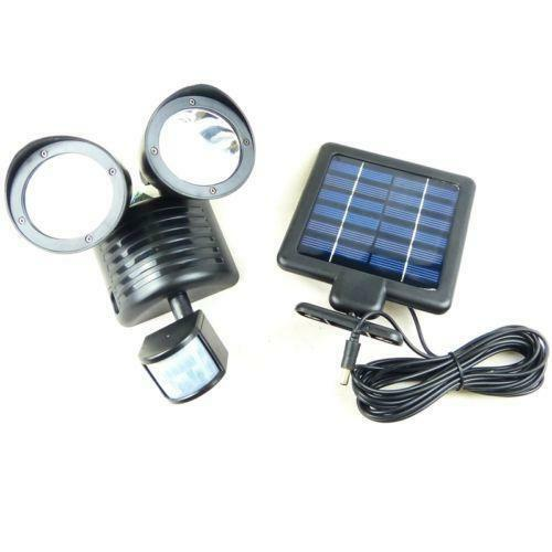 Porch Light Without Electricity: Solar Motion Sensor Light