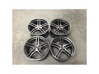 4STYLED 313 ALLOYS FOR BMW FITMENT E90 E91 E92 E93 F30 F31 F32 E46 WHEELS STAGGERED