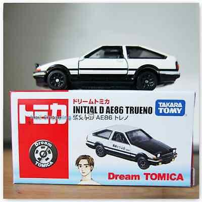 Takara Tomy Dream Tomica  Initial D AE86 Trueno Diecast Toy Car