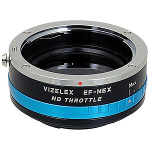 FotodioX Vizelex ND Throttle Adapter Canon EF to Sony e mount