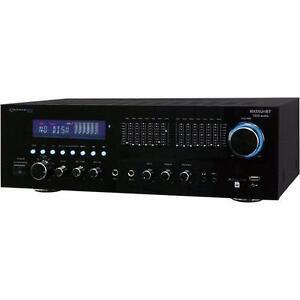 Technical Pro RX55UriBT amplifier with 1500 watts Samsung speakersh
