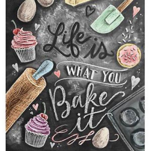 DIY Diamond Painting Kit / Life is what you Bake it!