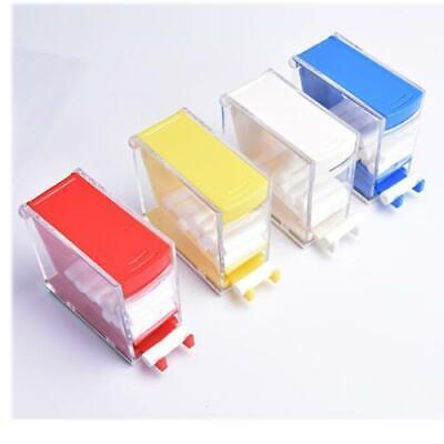 Press Push Type Dental Dentist Cotton Roller Dispenser Holder Case Storage Box