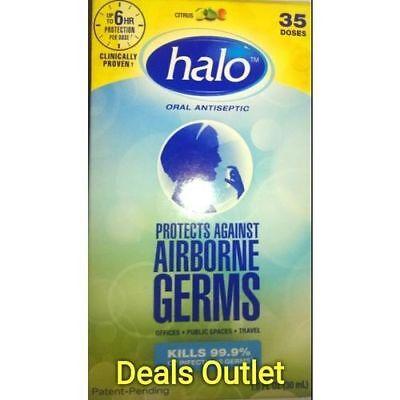 Halo Oral Antiseptic Citrus 35 Doses 1 oz. (2 PACK)