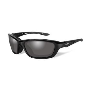 5537475f30 Wiley X Brick Sunglasses Metallic Black Frame Light Adjusting Grey Lens 856