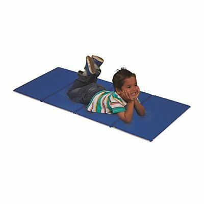 ECR4Kids 4-Fold Value Blue and Grey Rest Mat