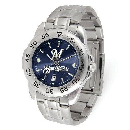 MLB Milwaukee Brewers Mens Sport Steel Watch Style: XWM3500