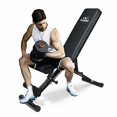 FLYBIRD Weight Bench Adjustable Strength Training Bench for Full Body Workout