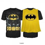 Batman Shirt Cape