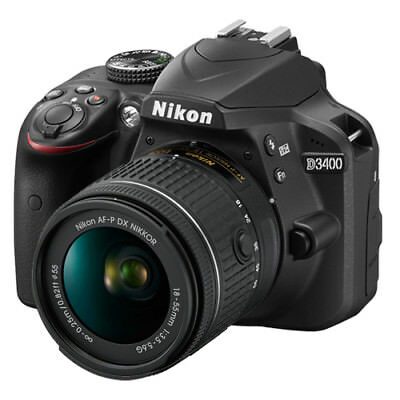 Nikon D3400 24.2 MP Digital SLR Camera with 18-55mm f/3.5-5.