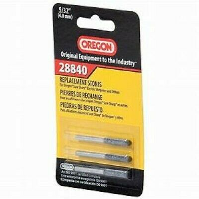 3 PACK Oregon Sharpening Stones 5/32 in. 28840 FAST FREE - 3 Pack Sharpening Stones