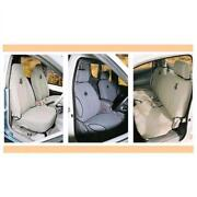 Black Duck Seat Covers Hilux