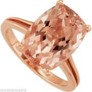 Cushion Cut Morganite