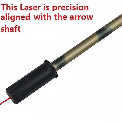 Red Laser Archery Crossbo bow Arrow Sight Tool Bore Sighter Boresighter  (Laser Bow Sight)