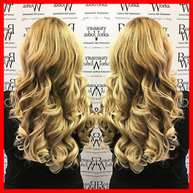 ★ WEAVED IN HAIR EXTENSION SPECIALISTS ★ NATURAL & UNDETECTABLE ★ ALL COLOURS IN STOCK