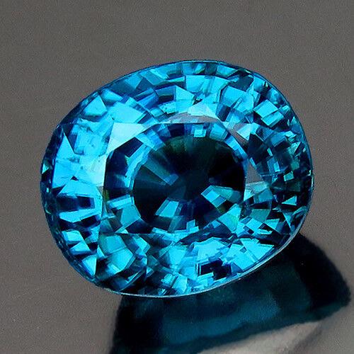 Natural Blue Zircon 5.30ct