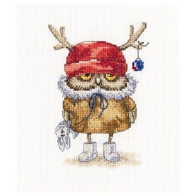 Counted Cross Stitch Kit Rto    Ready For The New Year