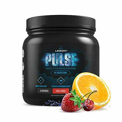 Legion Pulse, Best Natural Pre Workout Supplement for Women