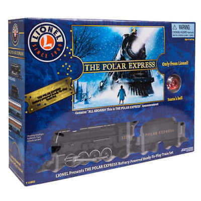 Lionel POLAR EXPRESS Train Set - Large Gauge w/ SANTA'S BELL-Christmas Holiday