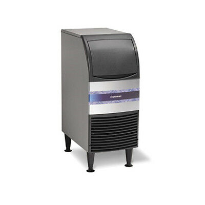 Scotsman Cu0715ma-6 80 Lbday W 36 Lb Storage Undercounter Essential Ice Maker