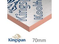 Insulation board 70mm Kingspan Ecotherm Celotext