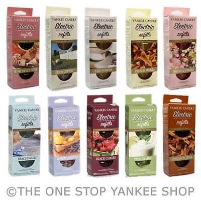 Yankee Candle Electric Plug in REFILL Twin Pack - ADD 3 TO BASKET FOR OFFER