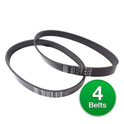 - Dirt Devil Style 4&5 Belt, for Featherlite upright-2-pack, Black