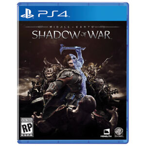 Mint Condition Shadow of War for PS4. $60