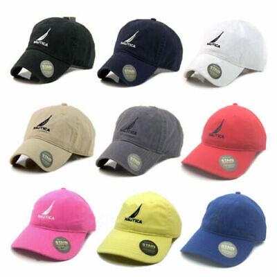 Women Men  Baseball Golf Ball Hot Nautica Hat Sport casual Sun Cap