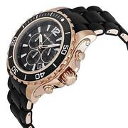 Michael Kors Watch Black Gold