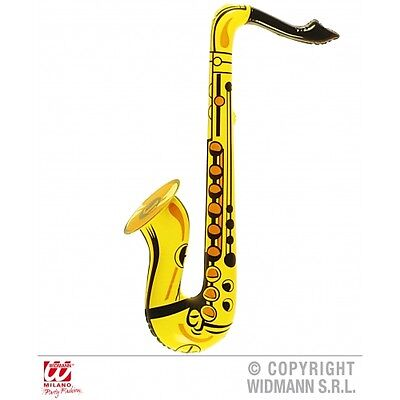 Large Inflatable Saxaphone Yellow - Fancy Dress Accessory 23