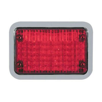 Code 3 Led Stop Turn Tail 4 X 6 Perimeter Light - Model 65bzr W Bezel