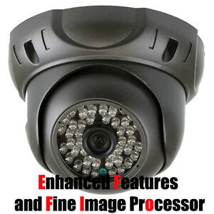 Commercial Indoor/Outdoor Dome Camera 700 TV Lines (Clear Image)