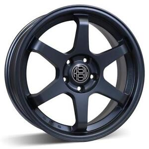 4 mags neuf RSSW Rival gris mat 16 pouce 5x114.3 taxe incluse!!! (code MC38)