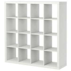 new ikea expedit shelving unit bookcase display case shelf white room divider ebay. Black Bedroom Furniture Sets. Home Design Ideas