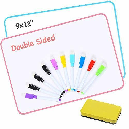 Dry Erase Board for Kids (Set of 2),Greate for Learning Writing and Drawing,