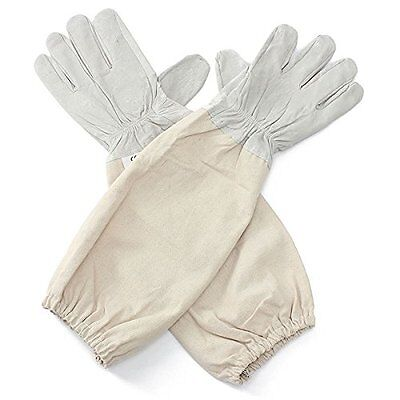 Alles Xl Goat Leather Beekeeping Gloves With Vented Sleeves 1 Pair X Large