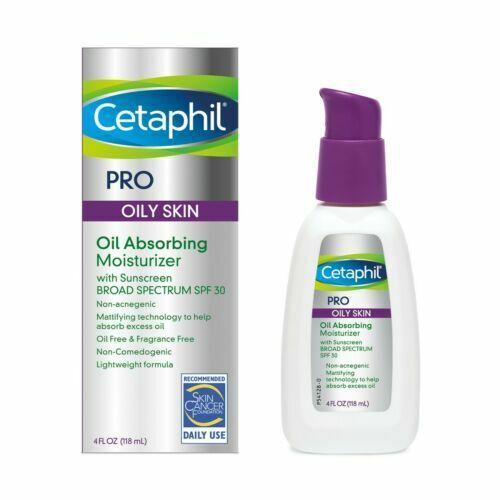 Cetaphil Dermacontrol Facial Moisturizer for Acne-Prone Skin