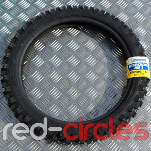 MICHELIN STARCROSS MS3 60/100-14 PIT DIRT BIKE 14 INCH FRONT TYRE 110cc PITBIKE