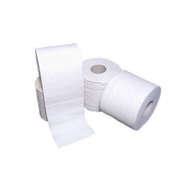 72 Rollen Tissue - Toilettenpapier hochweiß 3-lagig, 250 Blatt