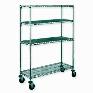 TABLETTE CHAMBRE FROIDE  ÉPOXY GREEN SHELVING