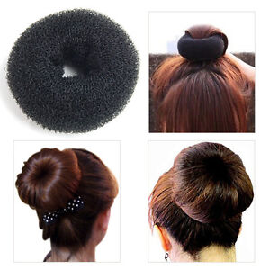 PACK OF 3 SIZES~ Womens Girls BLONDE Hair Bun Donut Ring Shaper~ Small Med Large See more like this PACK OF 2 SIZES ~ Womens Girls BLACK Hair Bun Donut Ring Shaper~ Small & .
