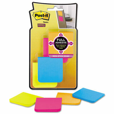 Post-it Super Sticky Full Adhesive Notes 2 X 2 Rio De Janeiro Collection -