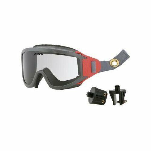 ESS 740-0287 Ess Clear Fire Goggle, Anti-Fog, Scratch-Resistant