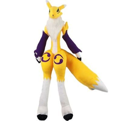 Anime Handmade Digital Monster Digimon Tamers Renamon 50cm Cos Plush Doll Toy for sale  Shipping to Canada