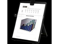 Fellowes Black Workstation Copyholder