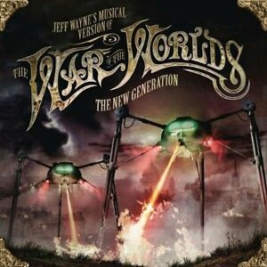 JEFF WAYNE'S THE WAR OF THE WORLDS - THE NEW GENERATION: 2CD ALBUM SET (2012)
