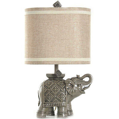 Better Homes and Gardens Elephant Table of contents Lamp, Gray W