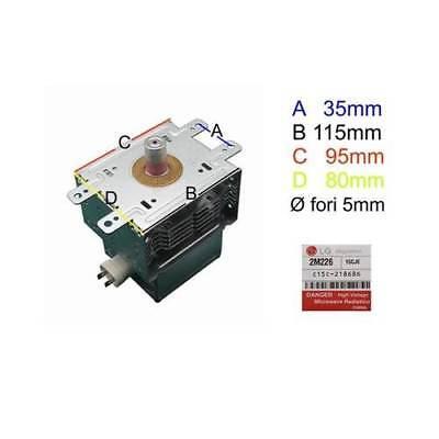 Magnetron LG 6 7/12ft226 for Microwave Oven Delonghi Samsung Whirlpool Smeg AEG