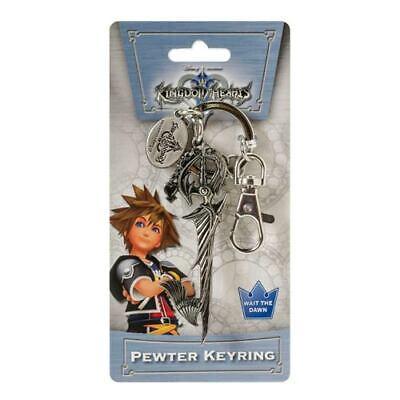 - Disney NEW * Way to the Dawn Key Chain * Kingdom Hearts Pewter Metal Keychain